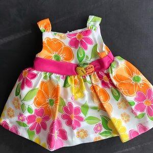 AMERICAN PRINCES BABY FLOWER DRESS